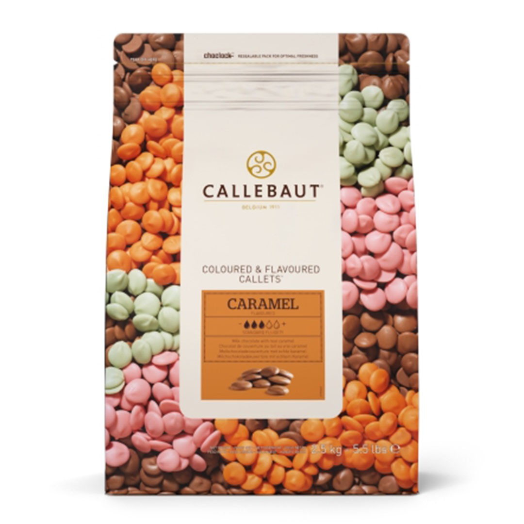 CHOCOLATE CALLETS CARAMELO 2,5KG CALLEBAUT