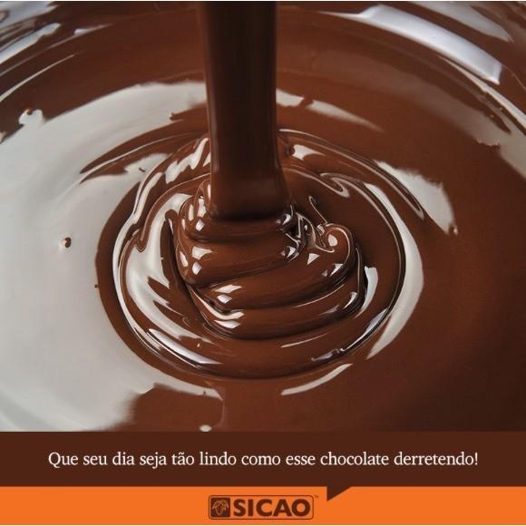 CHOCOLATE EM BARRA AO LEITE 2,1KG SICAO