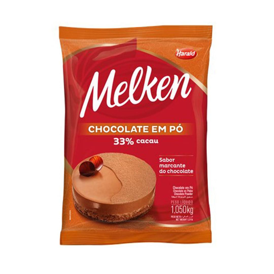 CHOCOLATE EM PÓ 33% 1,05 KG HARALD