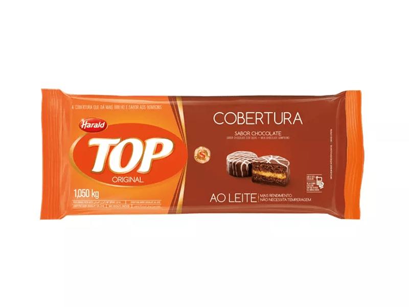 COBERTURA AO LEITE TOP 1,050KG HARALD