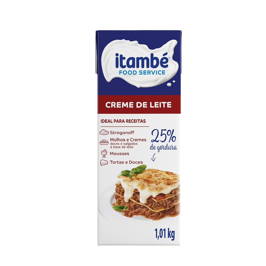CREME DE LEITE 25% 1,01KG ITAMBÉ