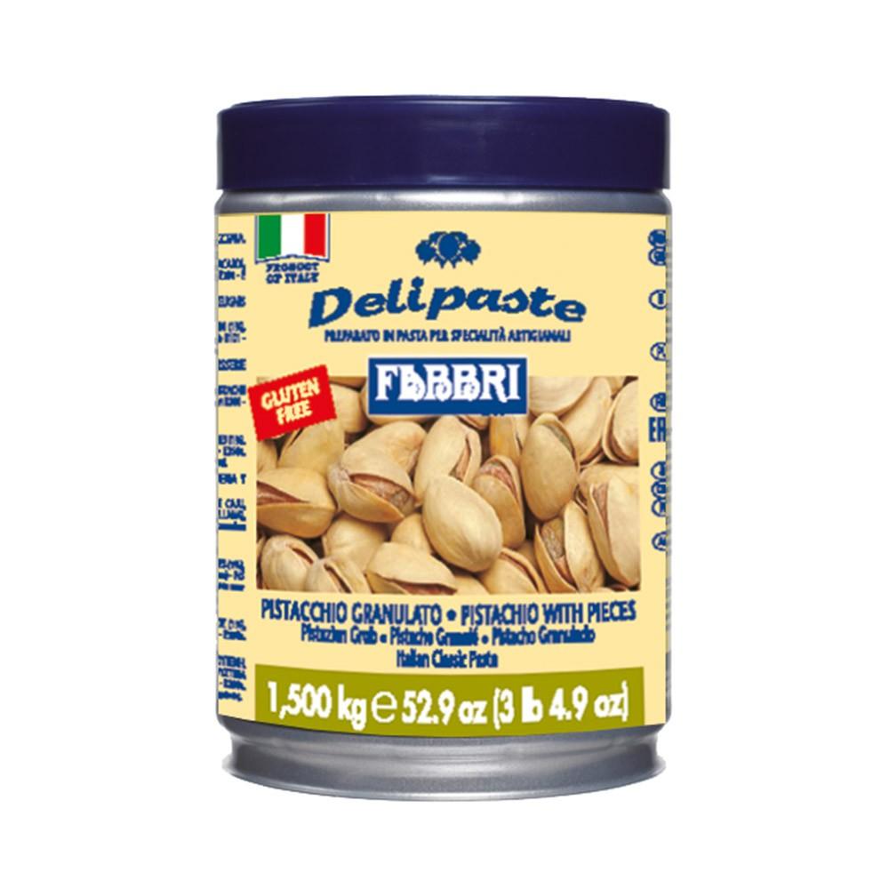 DELIPASTE PISTACCHIO GRANULADO 1,5KG FABBRI