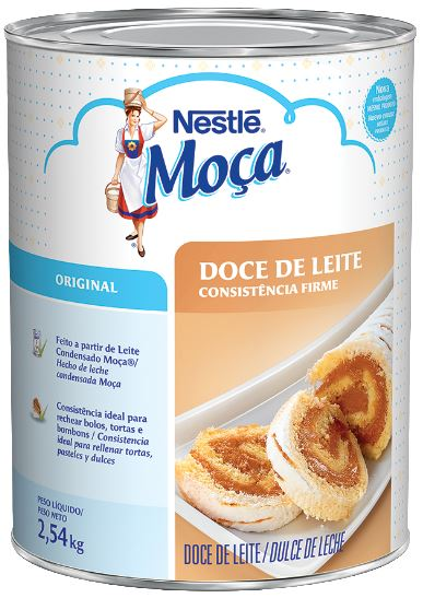 DOCE DE LEITE MOÇA 2,54 NESTLÉ