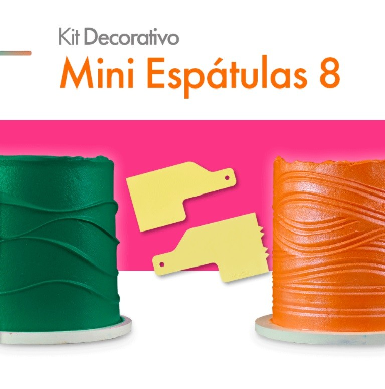 KIT'S MINI ESPÁTULAS DECORATIVAS BLUE STAR
