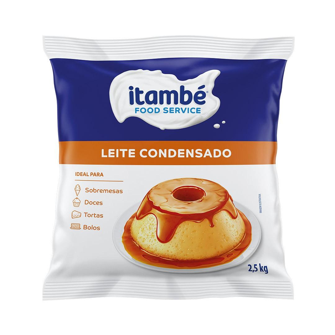 LEITE CONDENSADO BAG 2,5KG ITAMBÉ