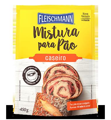 MISTURA PARA PÃO CASEIRO 450G FLEISCHMANN (Produto Próximo ao Vencimento)