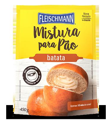MISTURA PARA PÃO DE BATATA 450G FLEISCHMANN
