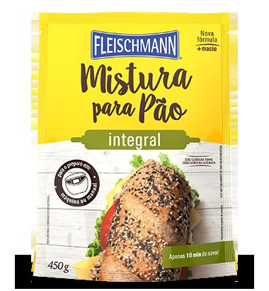 MISTURA PARA PÃO LEVE INTEGRAL 450G FLEISCHMANN