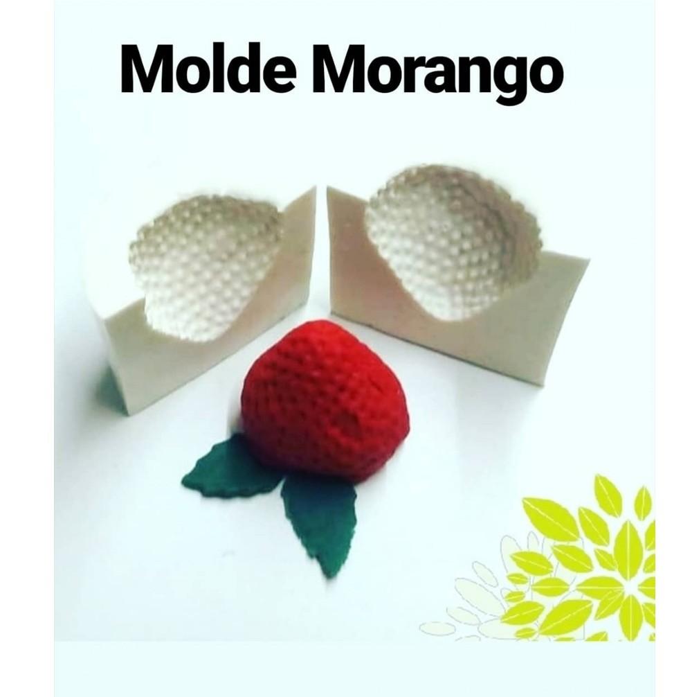 MOLDE DE SILICONE MORANGO