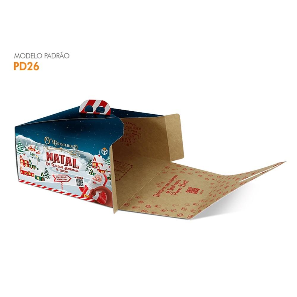 PD26 NATAL – EMBALAGEM PARA BOLOS DE ATÉ 2KG  PRIS CAKE