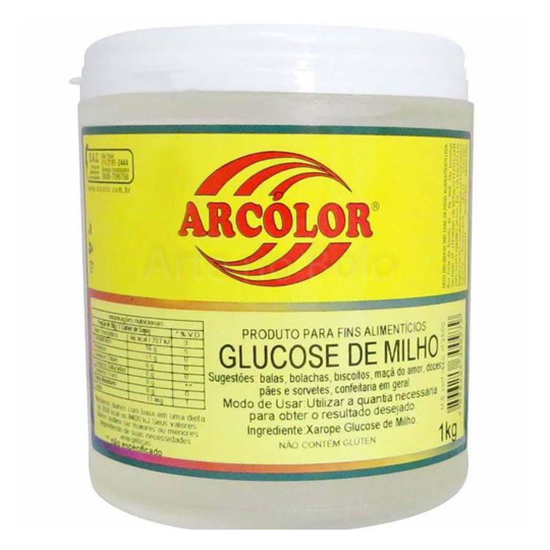 XAROPE GLUCOSE DE MILHO 1KG ARCOLOR