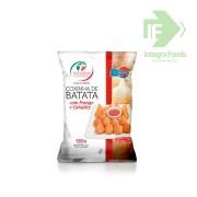 COXINHA DE BATATA COM FRANGO E CATUPIRY - 25g - PCT 400g