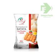 TRAVESSEIRINHO DE BATATA COM PRESUNTO E QUEIJO 25g. PCT 400g