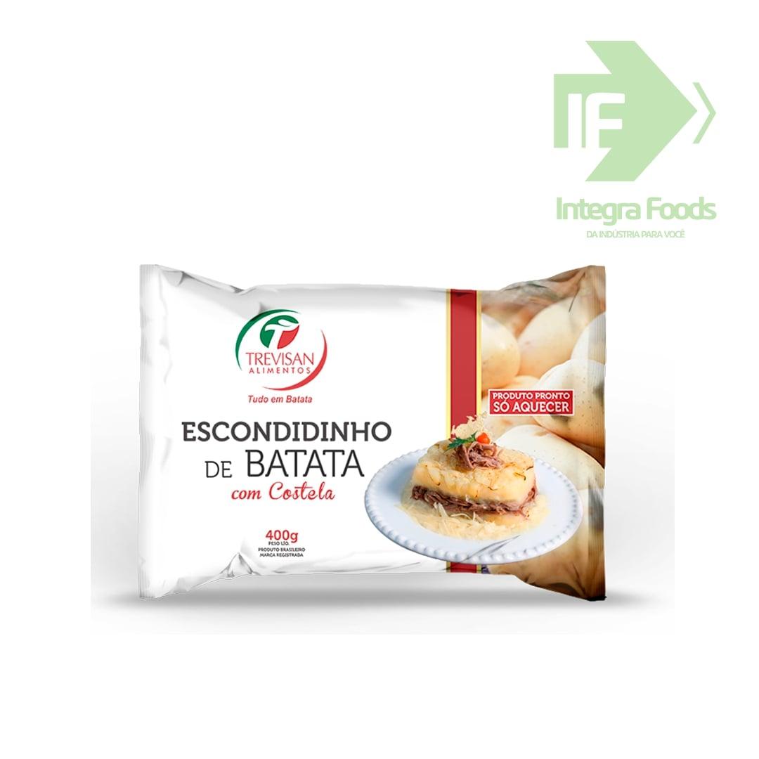 ESCONDIDINHO DE BATATA COM COSTELA - 400g