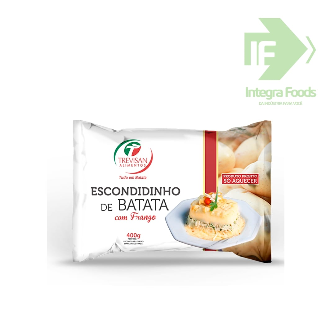 ESCONDIDINHO DE BATATA COM FRANGO - 400g