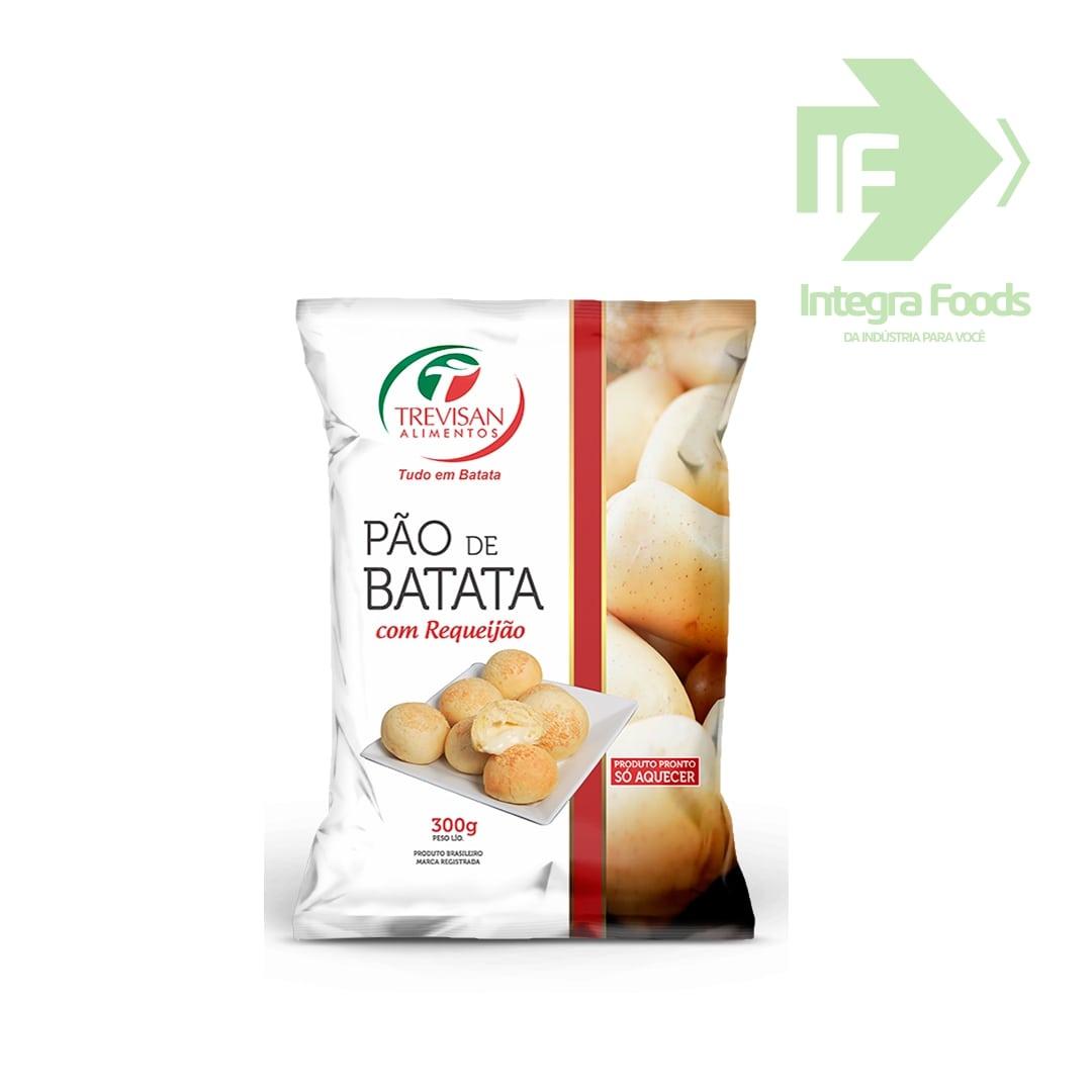 PÃO DE BATATA COM REQUEIJÃO 50g - PCT 300g