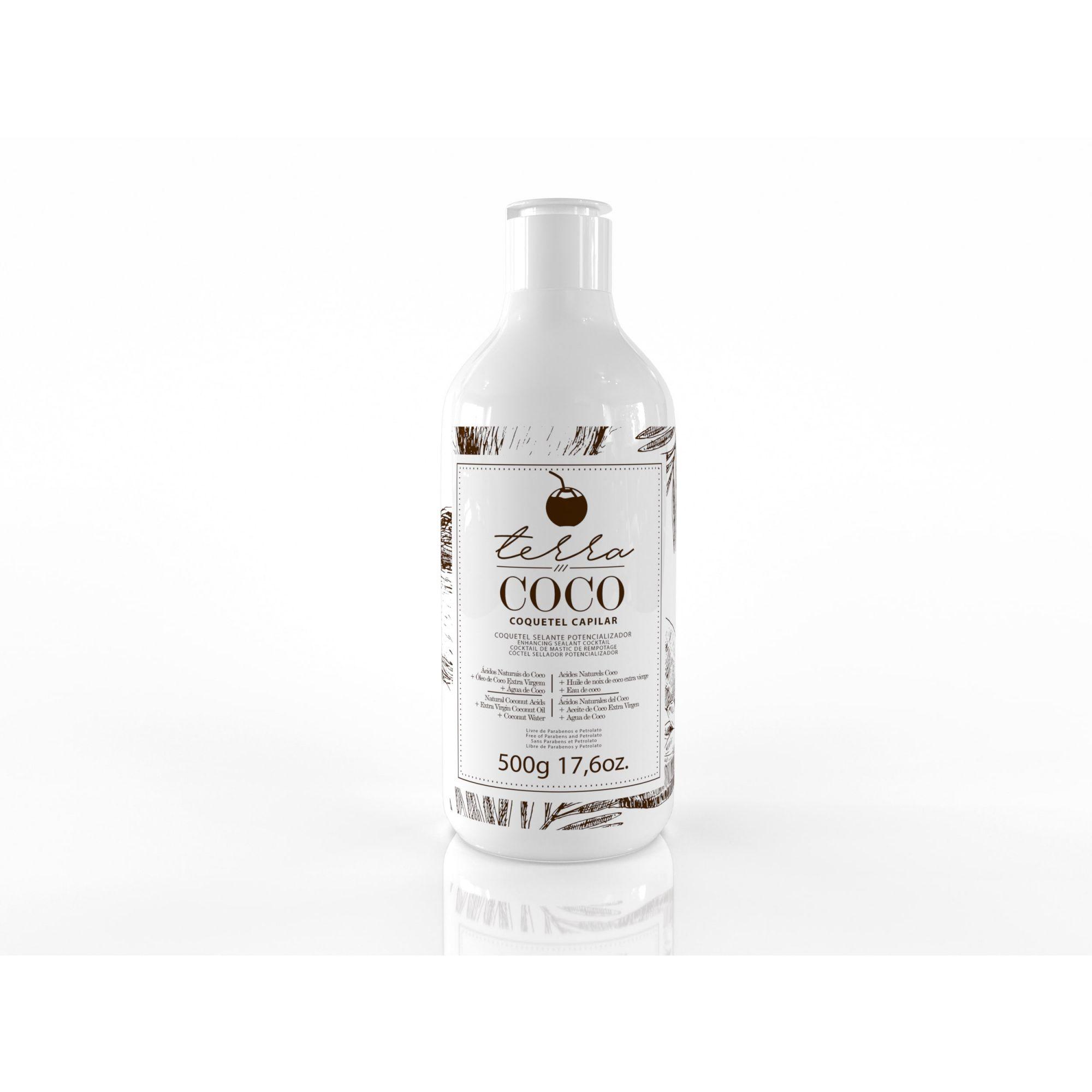 Coquetel Selante Potencializador 500g - Terra Coco