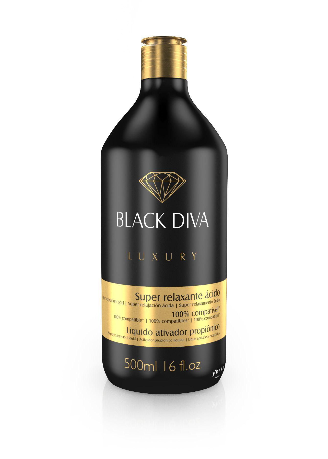 LIQUIDO ATIVADOR PROPIÔNICO - BLACK DIVA (500 ML)