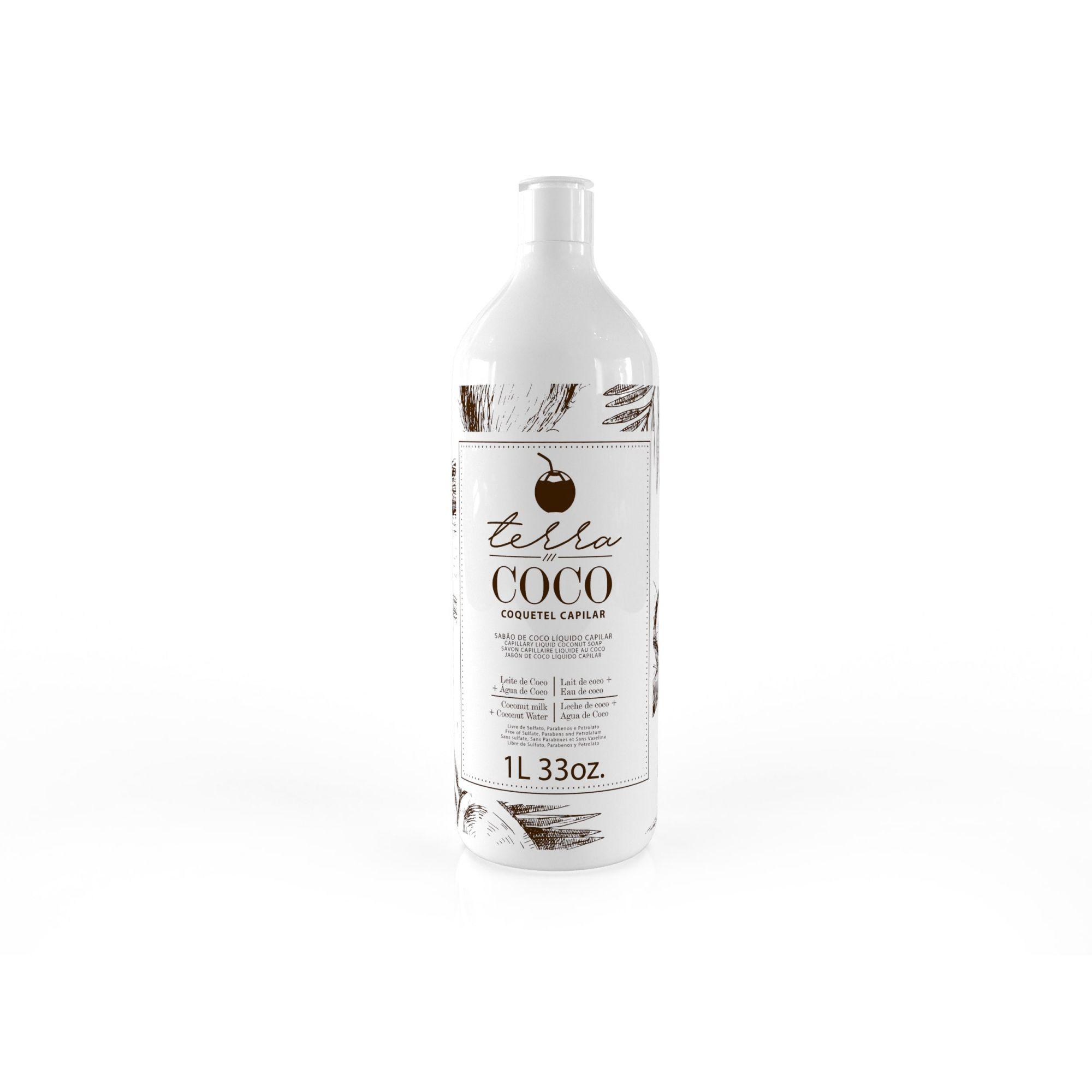 Sabão de Coco Líquido Capilar 1L - Terra Coco