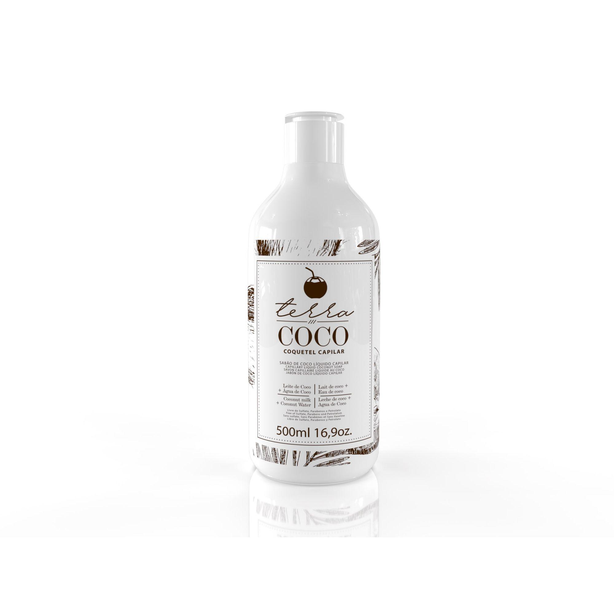 Sabão De Coco Liquido Capilar 500ml - Terra Coco