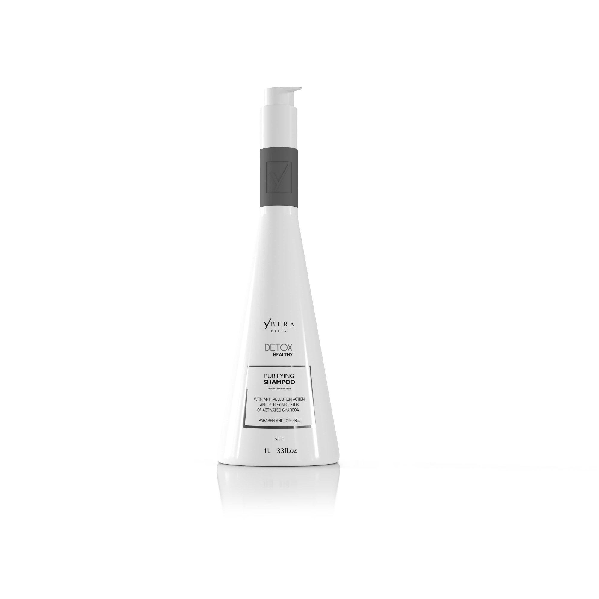 Shampoo Desintoxicante Detox Healthy Ybera Paris 1l