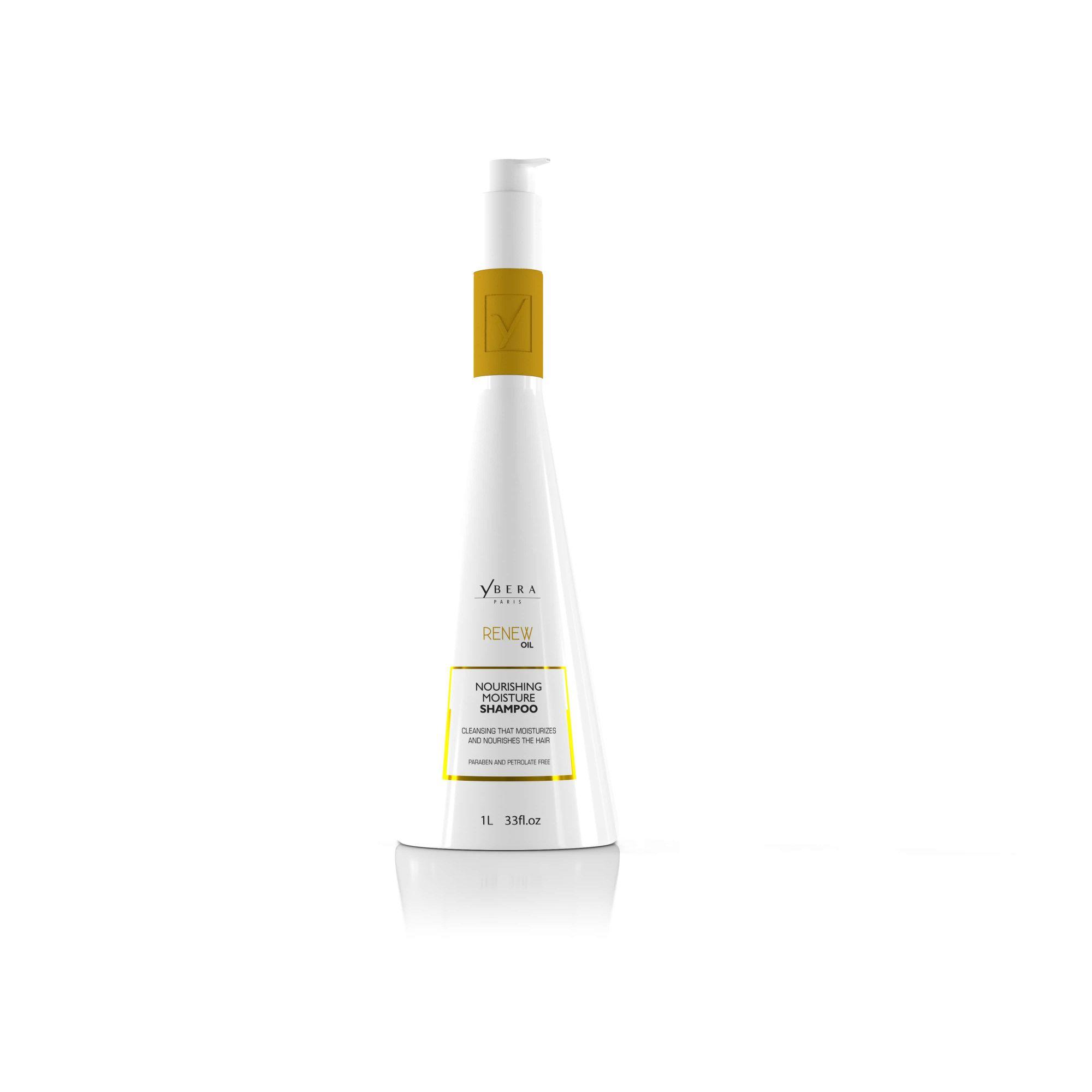 Shampoo Hidratação Nutritiva Renew Oil Ybera Paris 1l