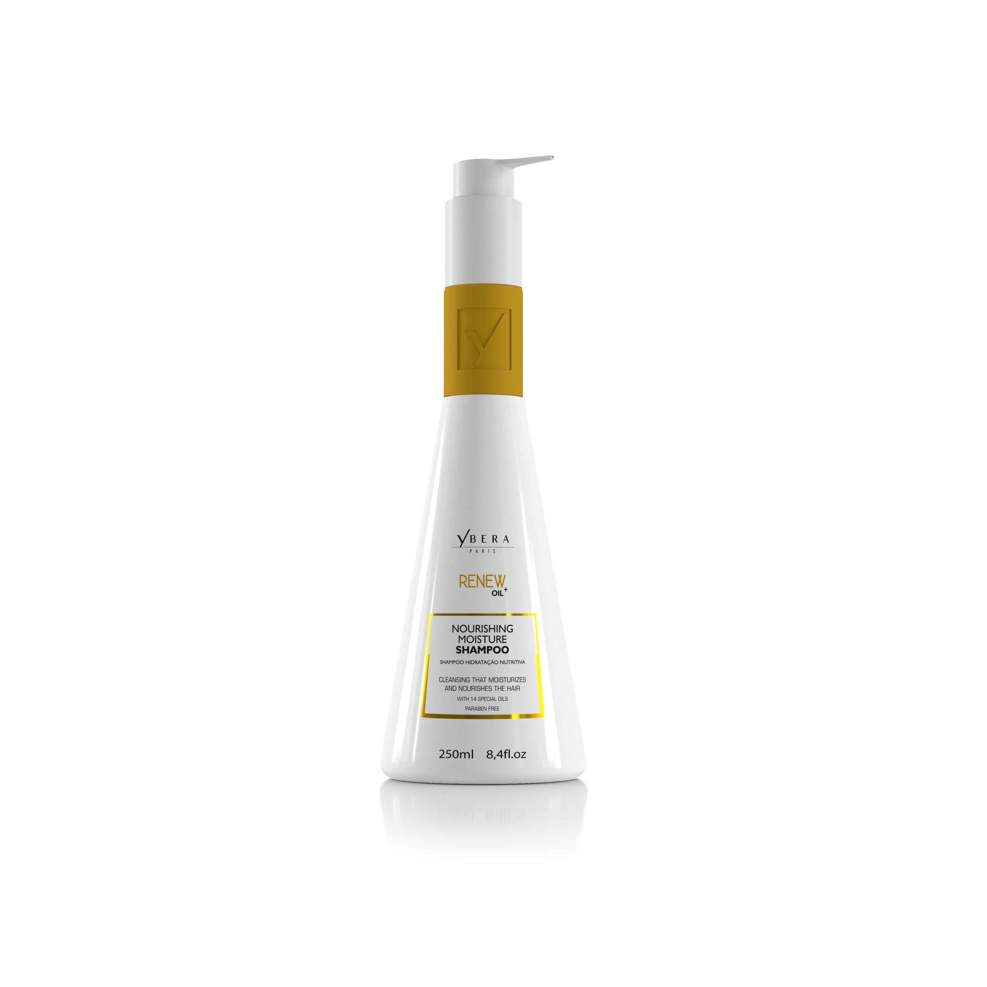 Shampoo Hidratante Manutenção Renew Oil Ybera Paris 250ml