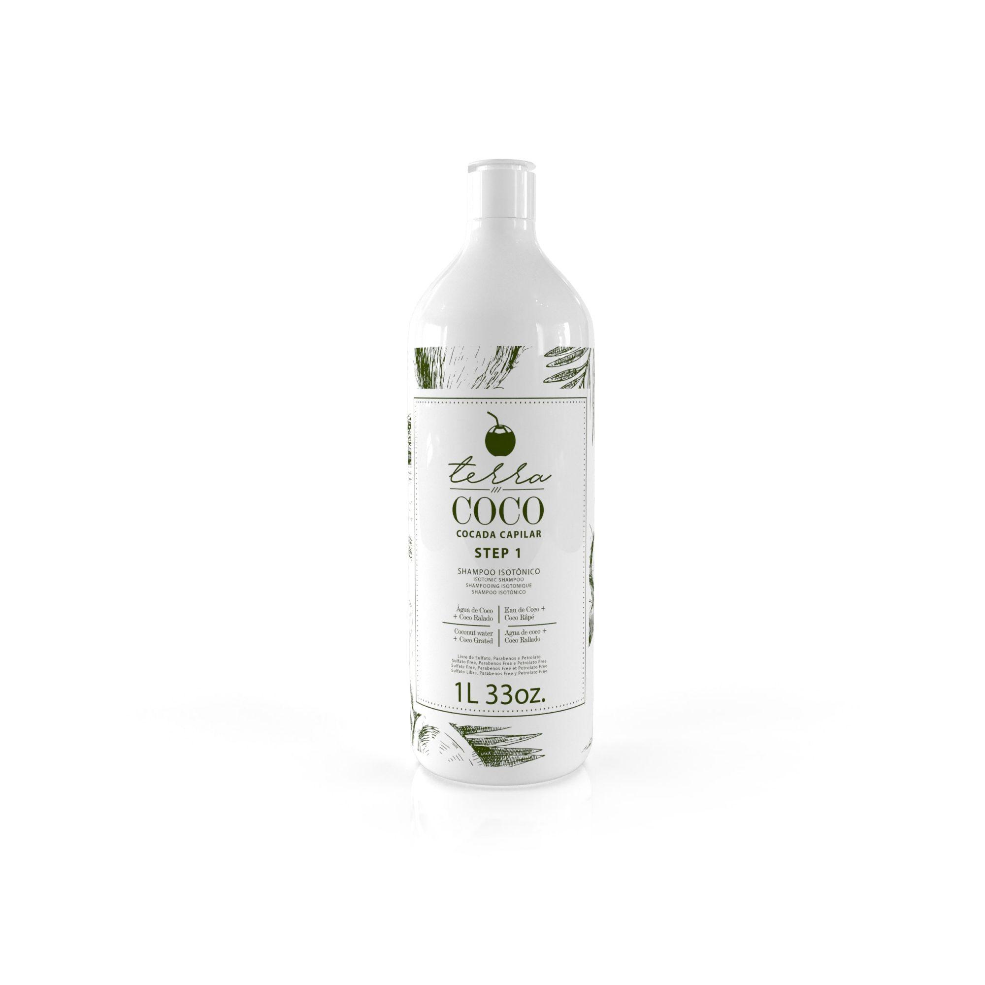 Shampoo Isotônico Sulfato Free 1L - Terra Coco