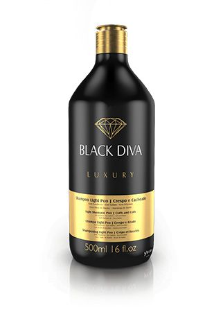 SHAMPOO LIGHT PO - BLACK DIVA (500 ML)