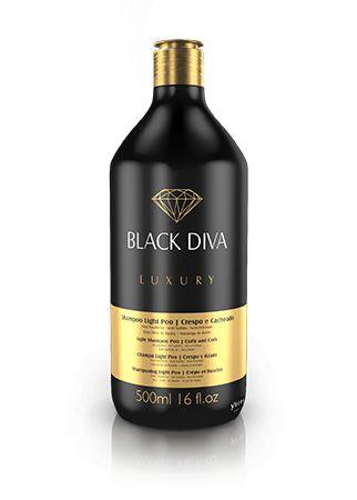 SHAMPOO LIGHT PO - BLACK DIVA (500 ML)