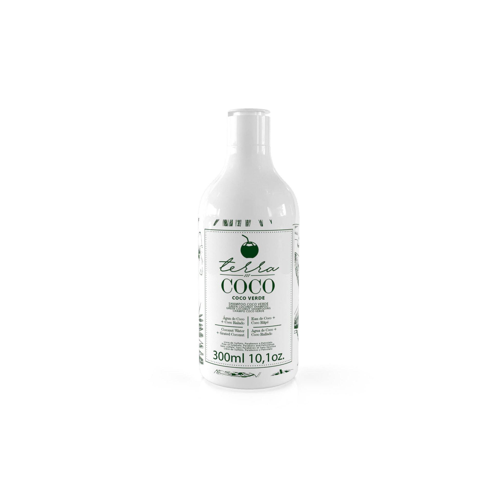 Shampoo Coco Verde  300ml - Terra Coco
