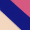 Dourado/Pink/Azul