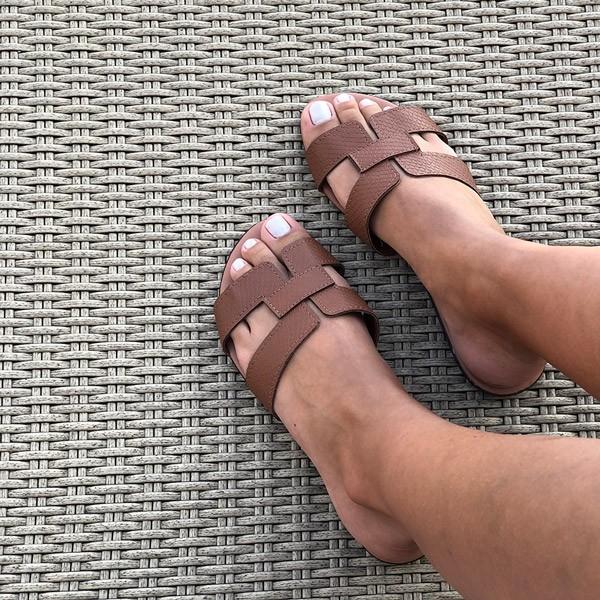 Kit sandálias rasteiras