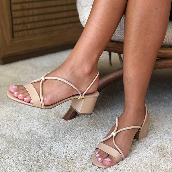 Sandalia Amalfi com tira e ajuste para sandália ou tamanco