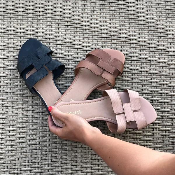 Sandalia rasteira Chinelo