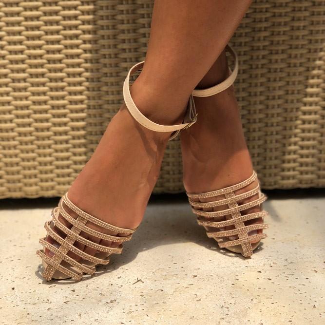 Sandália Rasteira Chinelo dedo  c/ tira fina