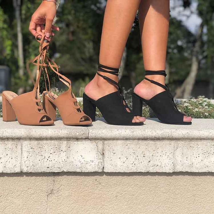 Sandalia Sandal Boot nobuck c/ fivela