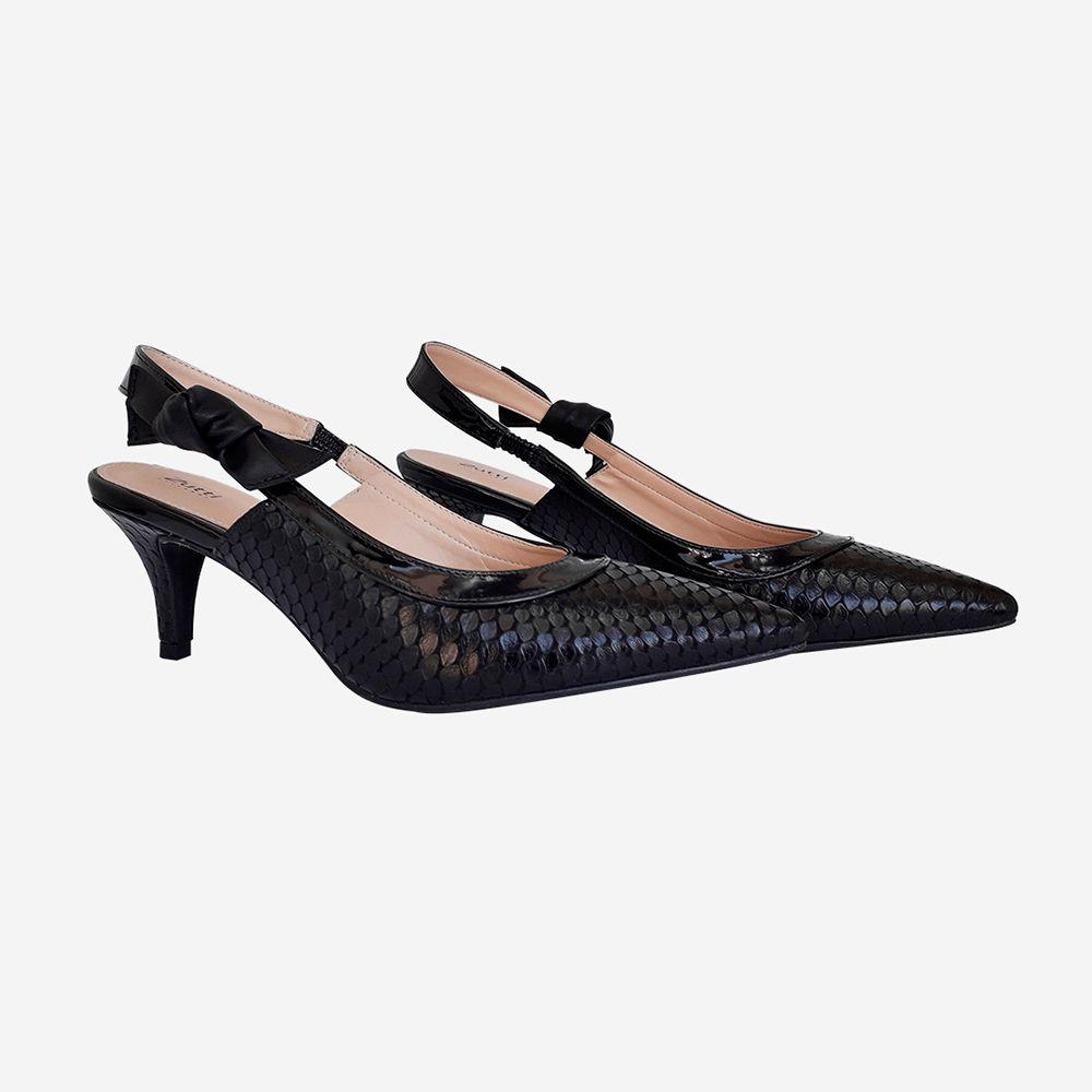 Sapato Chanel Salto médio bico fino