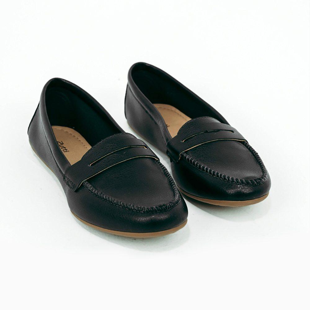 Sapato Mocassim bico redondo