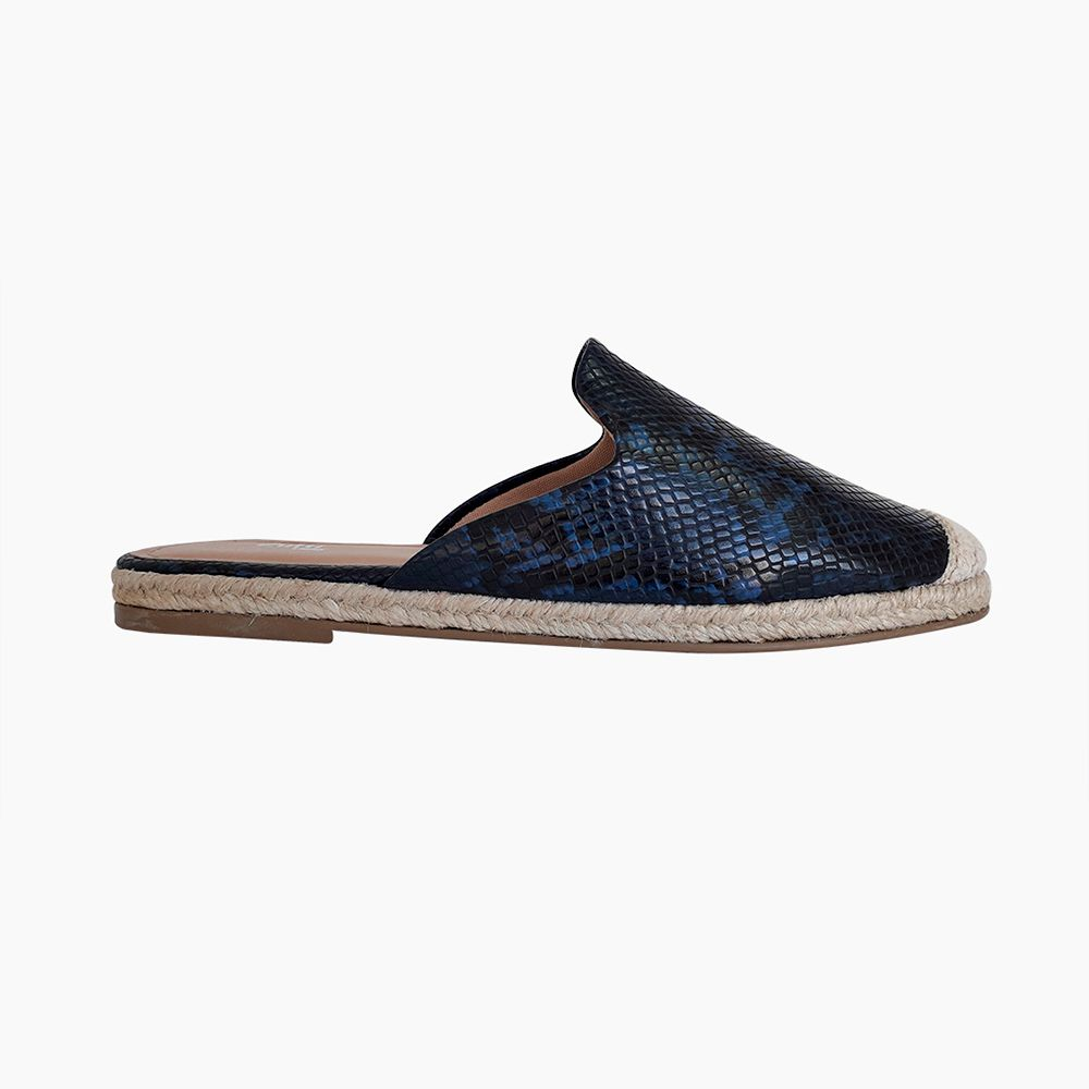 Sapato mule bico redondo