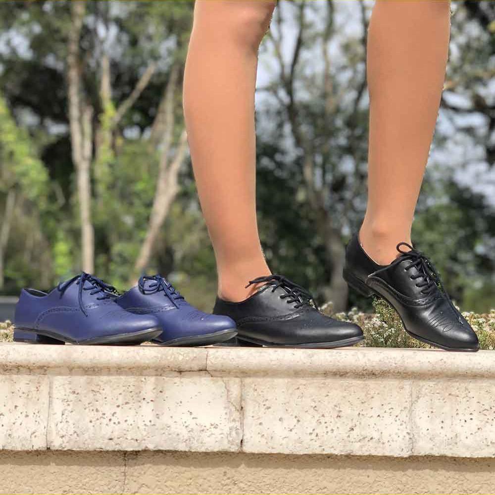 Sapato Oxford bico fino