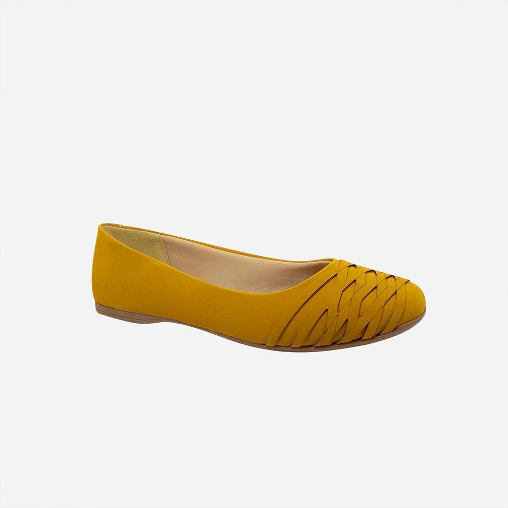 Sapato Sapatilha bico quadrado