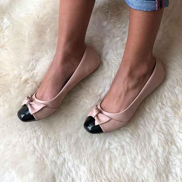 Sapato Sapatilha c/ laço