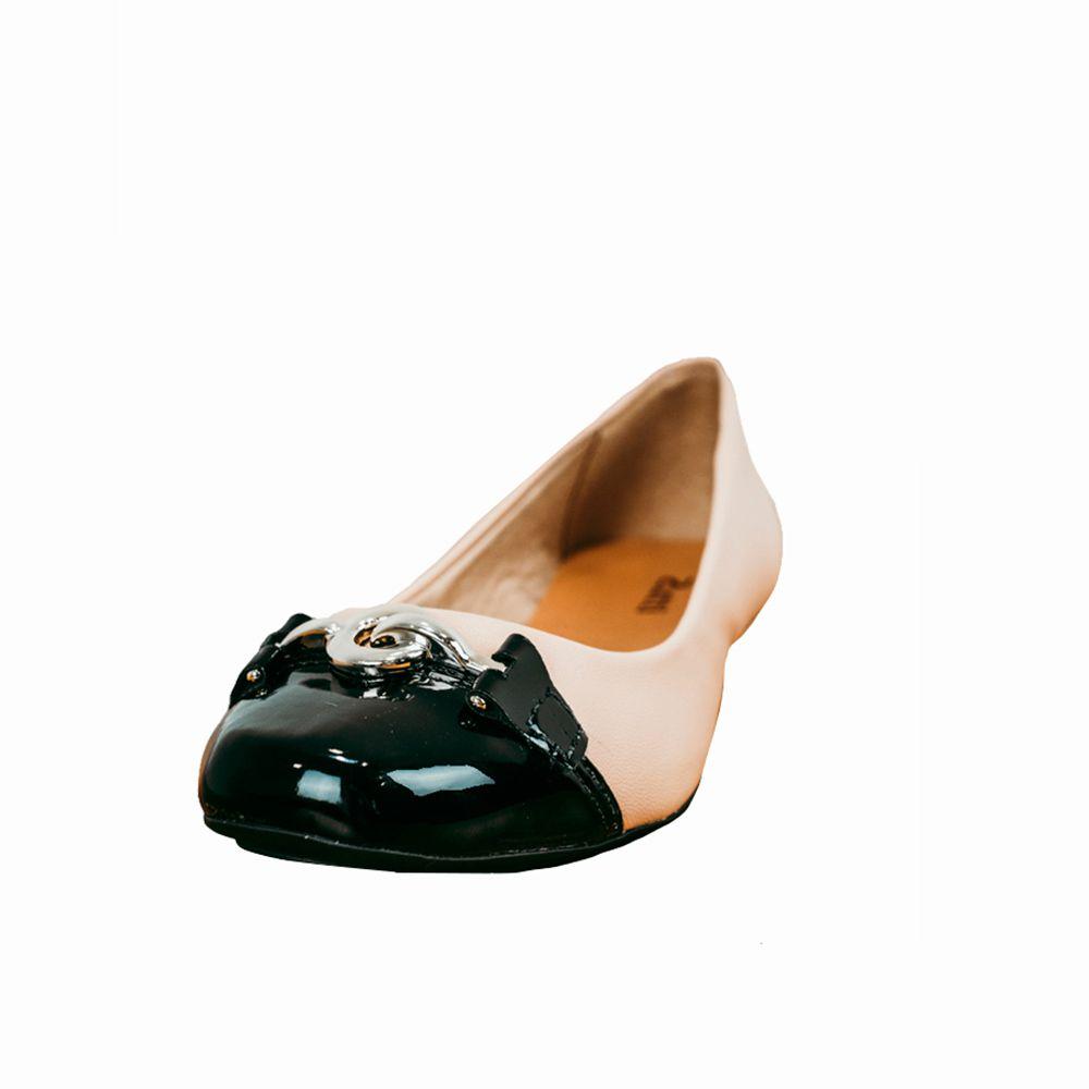 Sapato Sapatilha retangular