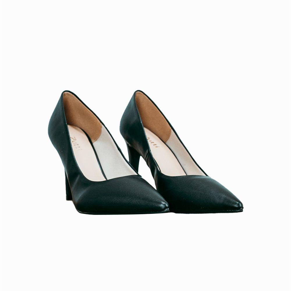 Sapato Scarpin Napa/Santorini salto alto fino bico fino