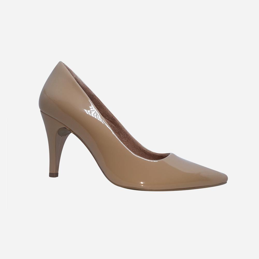 Sapato Scarpin salto médio fino bico fino
