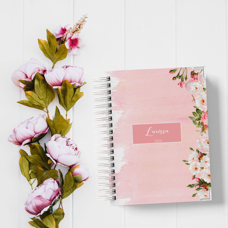 Agenda Permanente Floral Larissa