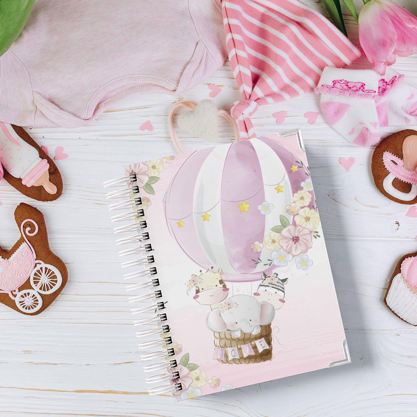 Livro Diário do Bebê Menina
