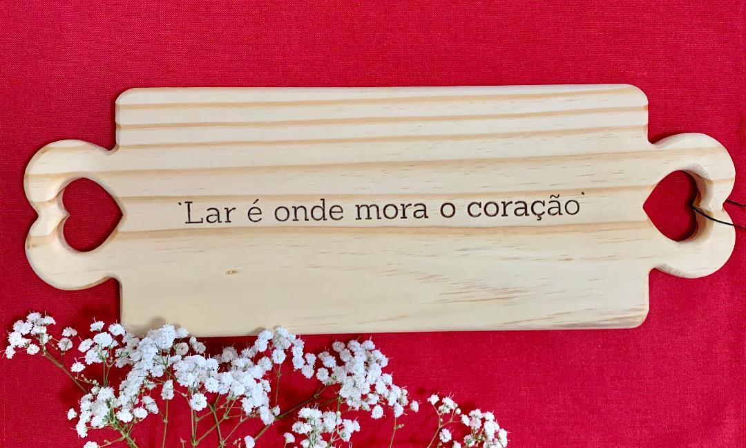 TÁBUA DE MADEIRA CABO HEARTS
