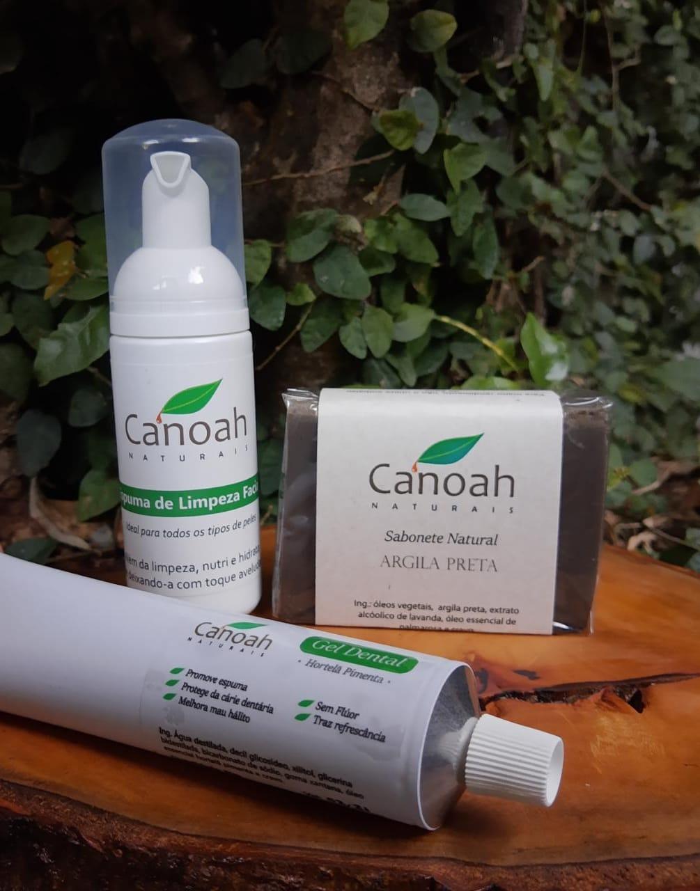 Kit Higiene Natural - Pele oleosa, mista e seca